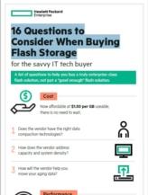 16 vragen die u moet stellen wanneer u flash storage wilt kopen