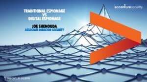 Spionagemiddag: Traditionele spionage vs. digitale spionage