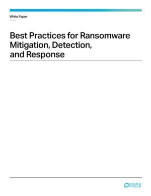 Ransomware detectie en preventie: best practices