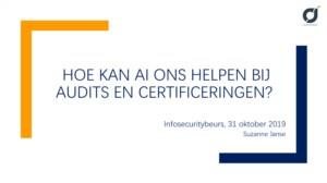 Hoe kan AI ons helpen bij audits en certificeringen?