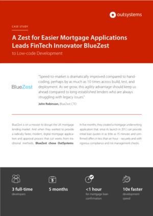 Revolutie op de hypotheekmarkt dankzij een low code platform