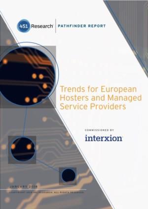 Trends voor Europese hosters en beheerde serviceproviders