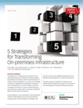 Vijf strategieën voor het transformeren van on-premise infrastructuur