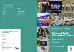 Masteropleiding Advanced Health Informatics Practice