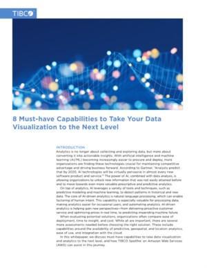 8 Must-have mogelijkheden om uw datavisualisatie naar het volgende niveau te brengen