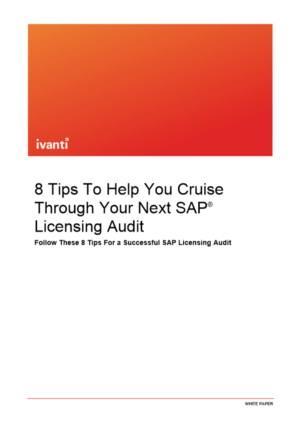 8 tips om u te helpen bij uw volgende SAP® licentie-audit