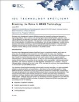 Complexe business rules rondom applicatieontwikkeling: belemmering of (concurrentie)voordeel?