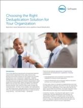 Hoe bepaal je wat de beste deduplicatie-oplossing is voor uw organisatie?