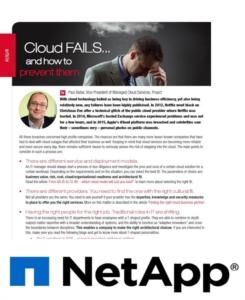 3 tips voor het verminderen van risico's bij starten met de Cloud