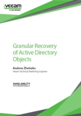 Granular Recovery of Active Directory Objects