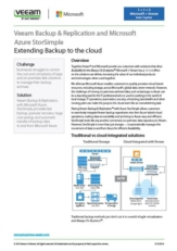 Veeam Backup & Replication and Microsoft Azure StorSimple Extending Backup to the cloud