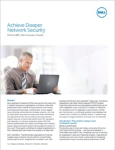 NGFW: Een diepgaander van niveau van netwerkbeveiliging zonder in te boeten op performance