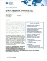 Geconvergeerde IT-infrastructuur oplossingen voor software-defined datacenter