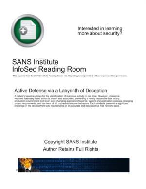 Ultieme real-time netwerkbeveiliging voor organisaties: het labyrint