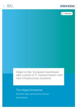 Infrastructurele innovatie sleutel succes Europese IT transformatie