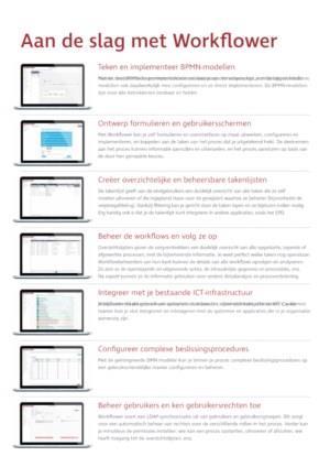 AMARON Workflower: veelzijdig platform voor procesautomatisering & -beheer in de zorg