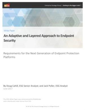 Bitdefender An adaptive layered next gen approach to endpoint security