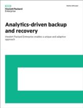 Analytics-driven back-up and recovery: speel in op veranderingen in hedendaagse datacenters