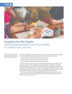 Toegankelijke Data Analytics, waar je ook bent