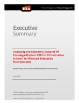 De economische voordelen van geconvergeerde IT-infrastructuur voor het MKB