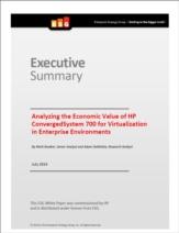 HP ConvergedSystem 700 voor virtuele workloads: een economische productanalyse