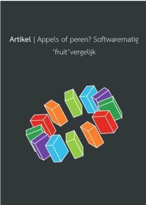 Appels of Peren - Softwarematig 'fruit' vergelijk