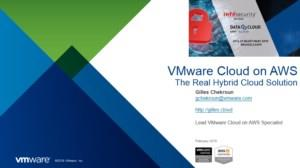 VMware Cloud on AWS - the real hybrid cloud solution (Powered by Arrow ECS)