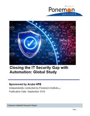 Closing the IT Security Gap with Automation & AI in the Era of IoT