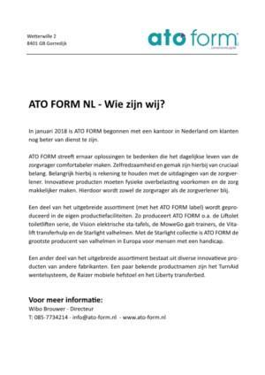ATO FORM NL - Wie zijn wij?