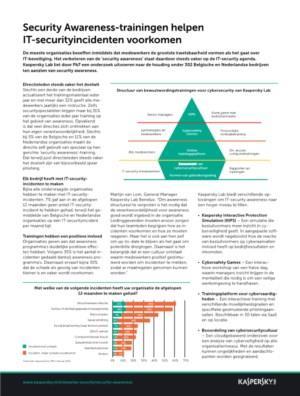 Security Awareness-trainingen helpen IT-securityincidenten voorkomen