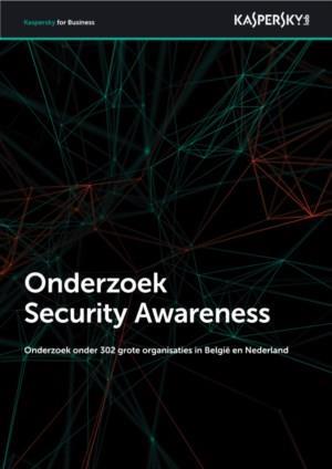 Security Awareness onderzoek onder 302 grote organisaties in Nederland en België