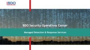 BDO Managed & Response Services
