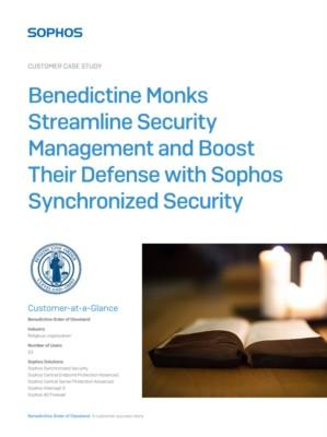 Sophos Case Study: Benedictine Order of Cleveland Uses Synchronized Security