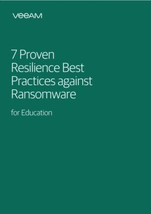 7 Proven Resilience Best Practices against Ransomware