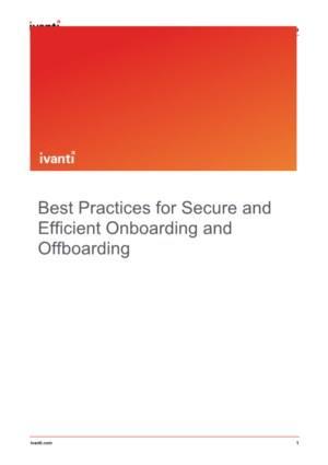 Best practices voor veilig en efficiënt on- en offboarding