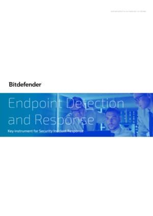 Bitdefender EDR for Security Incident Respons