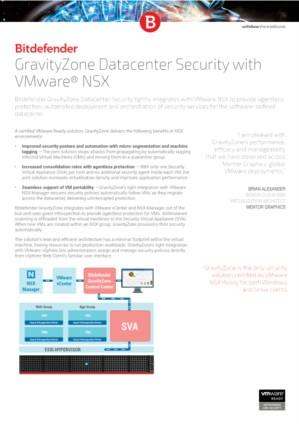 GravityZone Datacenter Security with VMware