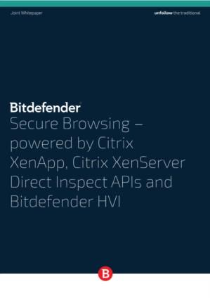 Secure browsing, powered by Citrix