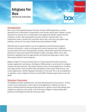 Bitglass for Box technical overview