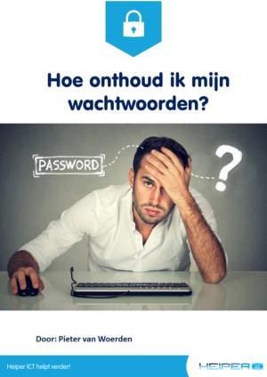 Hoe onthoud ik mijn wachtwoorden?