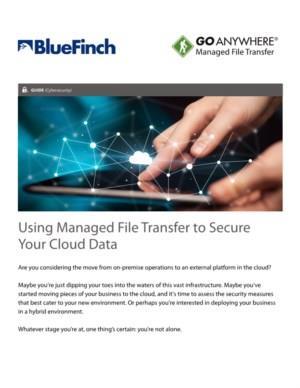 Managed File Transfer en de Cloud