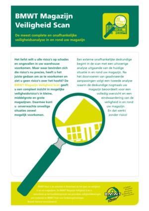 BMWT Magazijn Veiligheid Scan: De meest complete en onafhankelijke veiligheidsanalyse in en rond uw magazijn