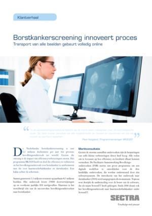 Borstkankerscreening innoveert proces