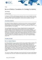 Box as a Platform: het fundament voor uw mobility strategie