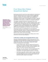 Vijf manieren waarop organisaties meer mobiliteit en samenwerking aan SharePoint toevoegen