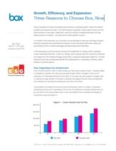Cloud-based file access, sharing en management vs. herinvesteren in inflexibele, kapitaalintensieve on-premise systemen