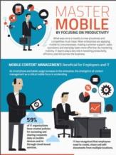Infographic: Succes met mobile door focus op productiviteit