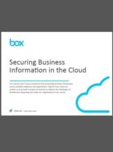 eBook: Het beveiligen van Business Informatie in de Cloud