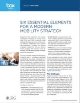 De 6 essentiële elementen van een moderne mobiele strategie