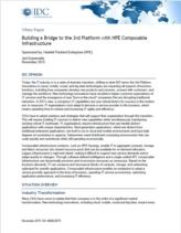 Composable infrastructuur voor uw datacenter: bouw een brug met het IDC 3rd platform